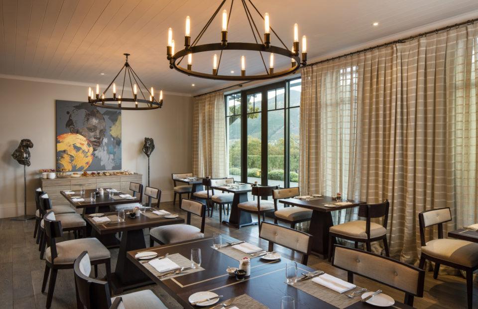Leeu Estates Dining Room 1 960x620 - Leeu Estates: Travel + Leisure's Best New Hotels 2017