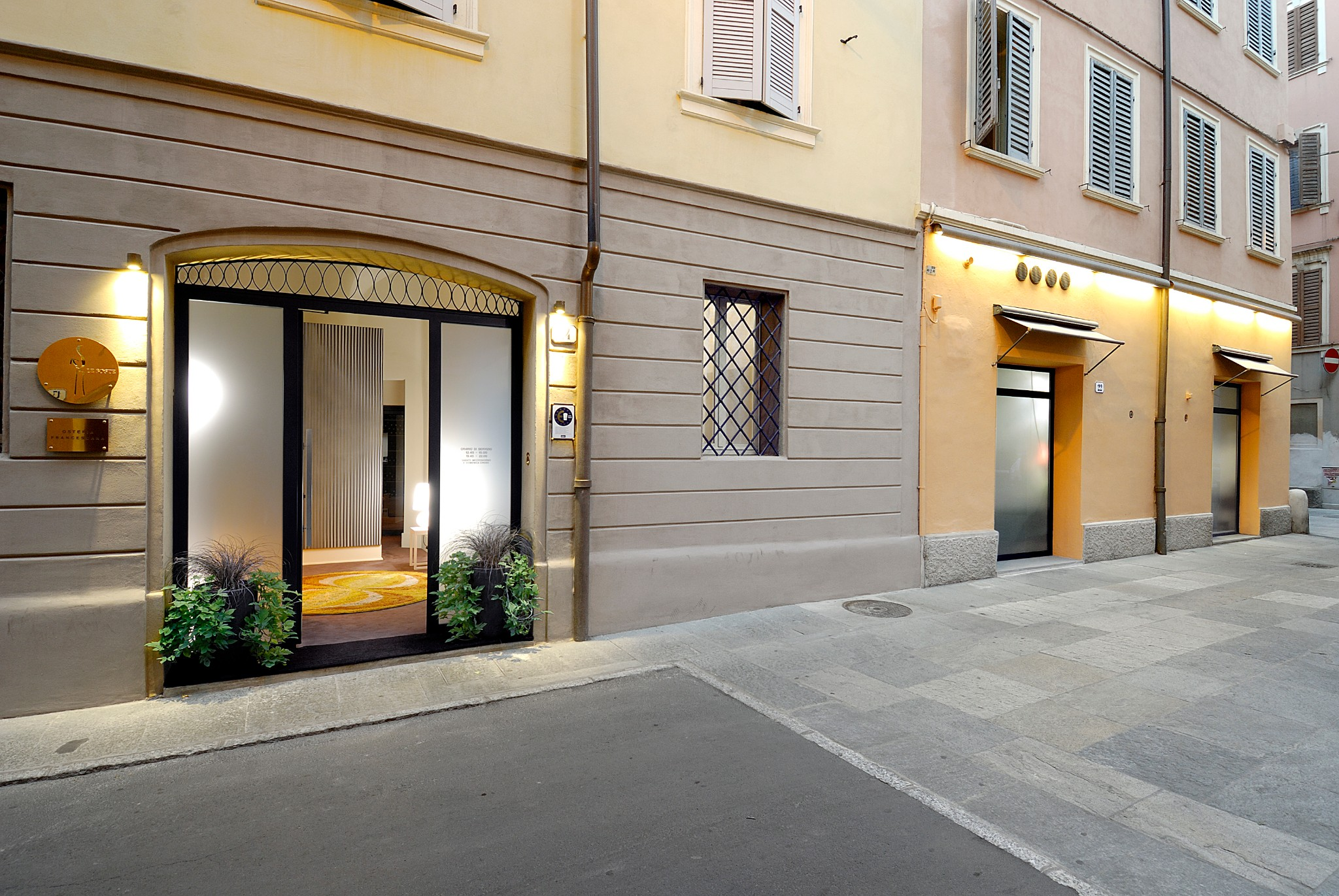 Osteria Francescana Exterior 3. Photo Credit