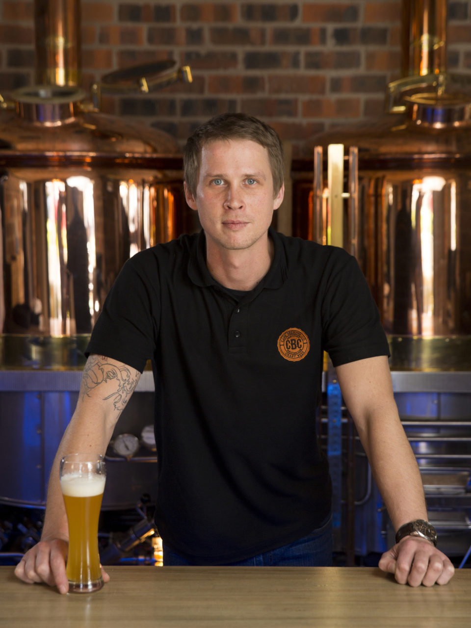 Dewald Goosen - Master Brewer