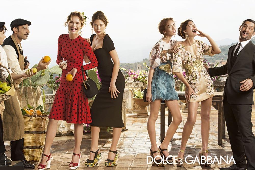 Dolce & gabbana holiday 2017 campaign