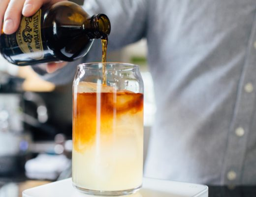 Cold Brew with a Twist : #CoffeeLemonade