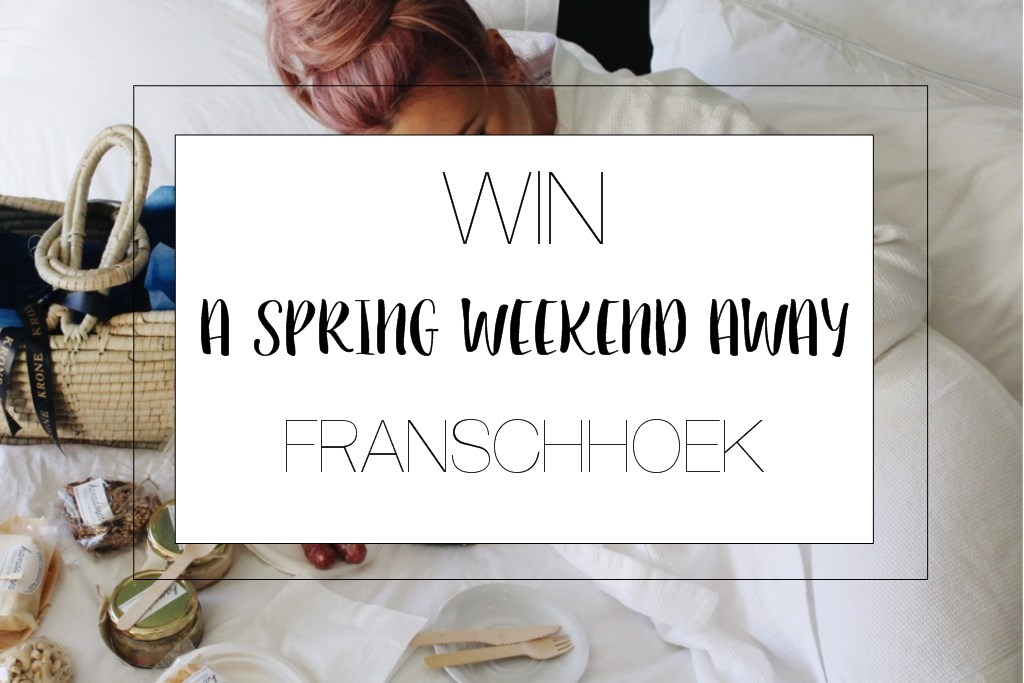Win A weekend  in the Winelands | HOSPITALITY HEDONIST -SOUTH AFRICAN TRAVEL | FASHION | LIFESTYLE image 1