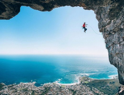 Climber Falling off Table Mountain makes Red Bull Illume Image Quest 2016 11