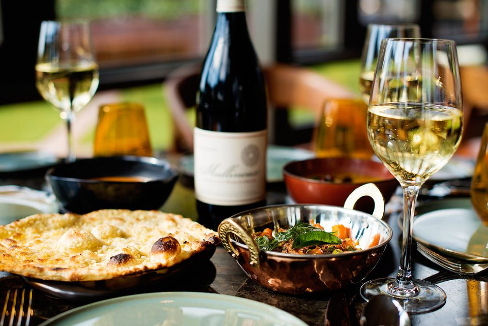 garlic-naan-chole-masala-with-mullineux-wine