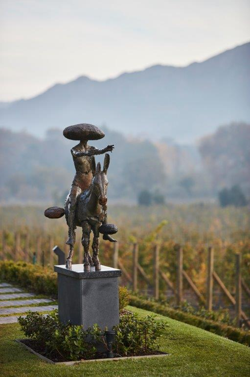 LADY ON DONKEY MATTER OF FICTION 2012 Angus Taylor 01 - Everard Read to open in Franschhoek