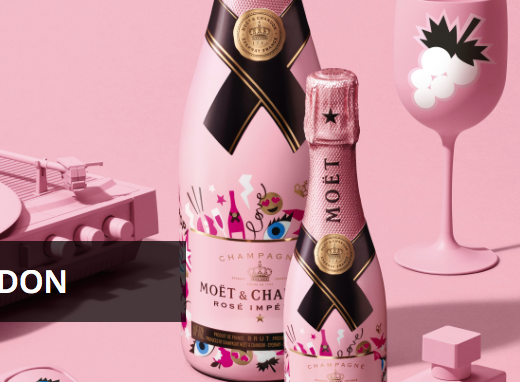 Wine Crush Wednesday: Moët Rosé Emoëticons 1