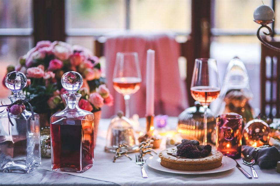 dinner meal table wine 960x640 - Valentine's Dinner in Durban