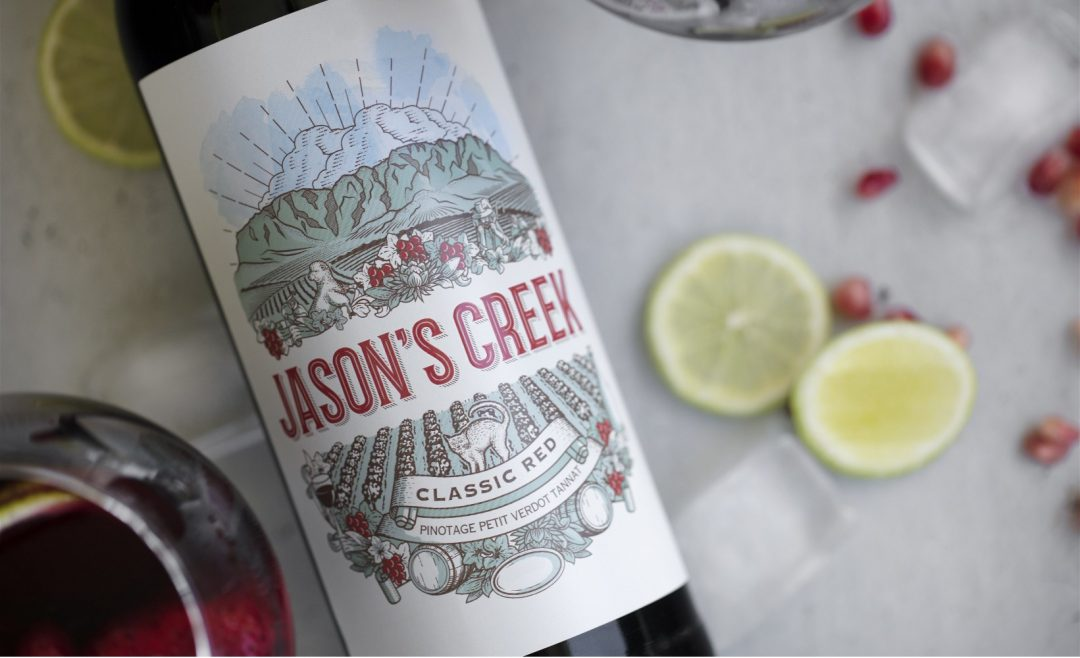 Wine Crush Wednesday: Jason's Creek Cape Blend 2