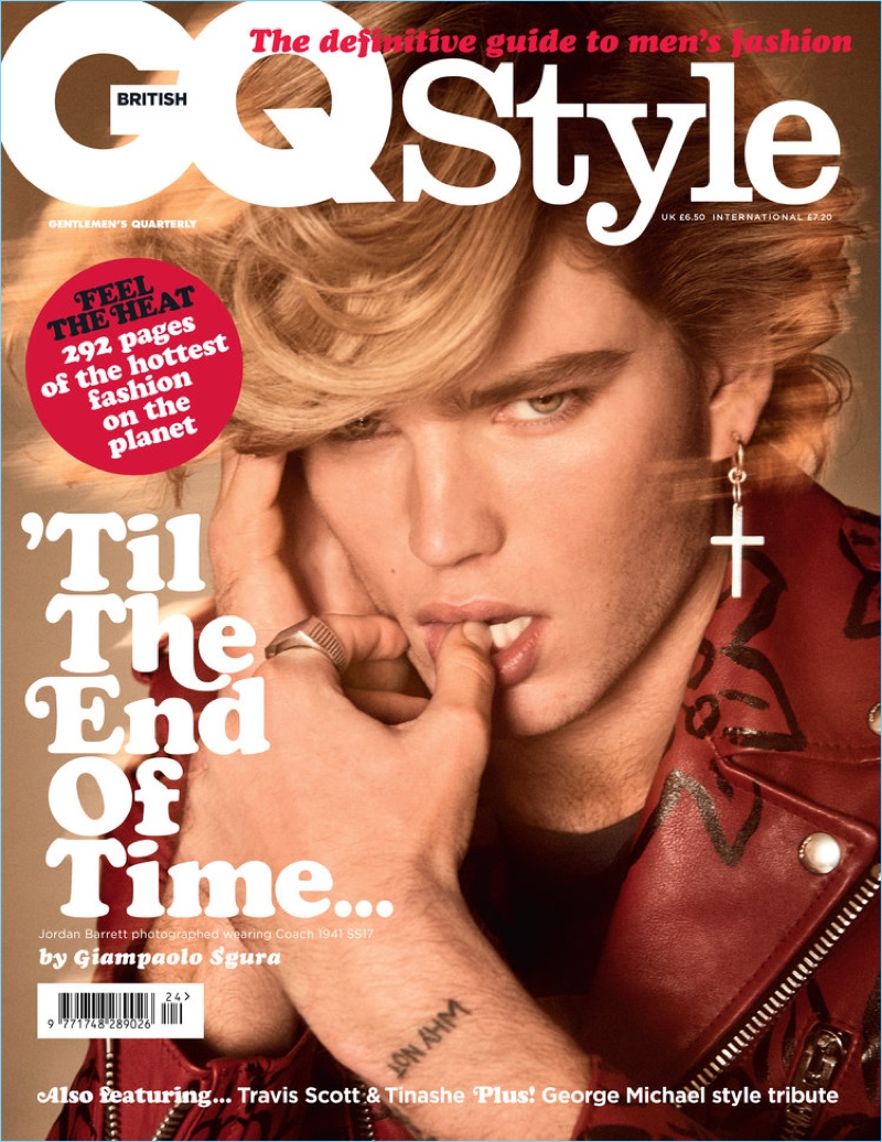 Jordan Barrett channels George Michael for British GQ Style. | HOSPITALITY HEDONIST -SOUTH AFRICAN TRAVEL | FASHION | LIFESTYLE image 5