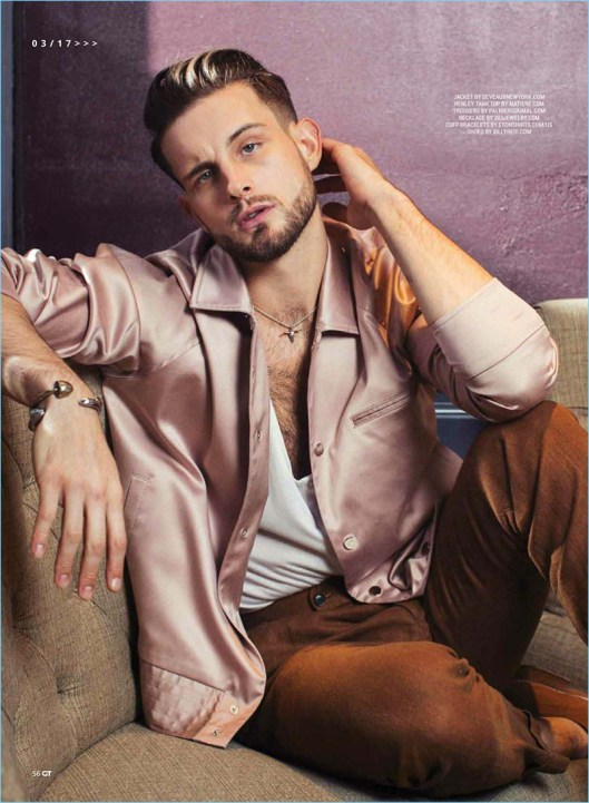Nico Tortorella 2017 Gay Times Photo Shoot 007 - Nico Tortorella on putting Bi in LGBTI+
