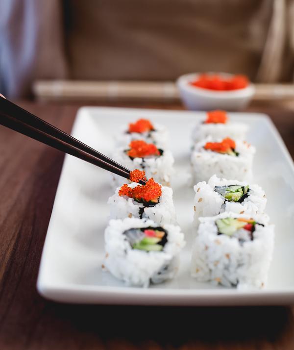 sushi at home 102 - Sushi & Shannon Vineyards Sanctuary Peak Sauvignon Blanc