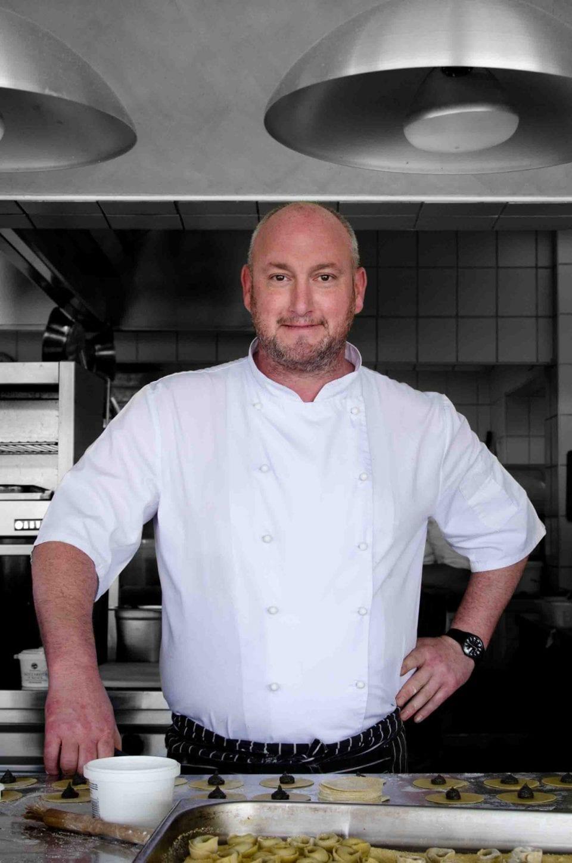 George Jardine in kitchen HR 960x1448 - Pop Up Lunches with Chef George Jardine