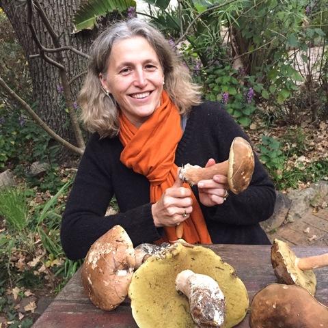 Nora Sperling Thiel with Mushrooms LR - Delheim's popular Fungi Forage | 15, 16, 30 June 2017