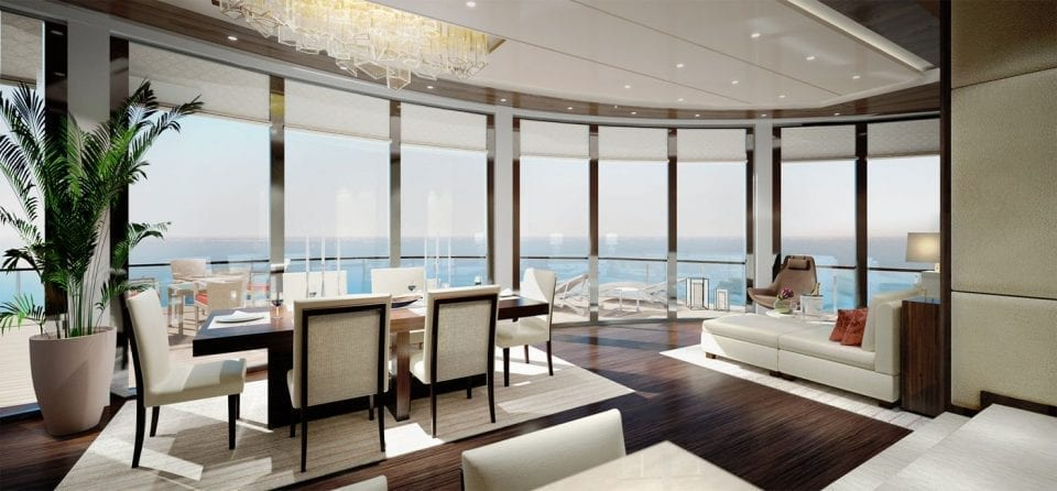 Owners suite 960x446 - EXCLUSIVE: The Ritz-Carlton Takes To Sea