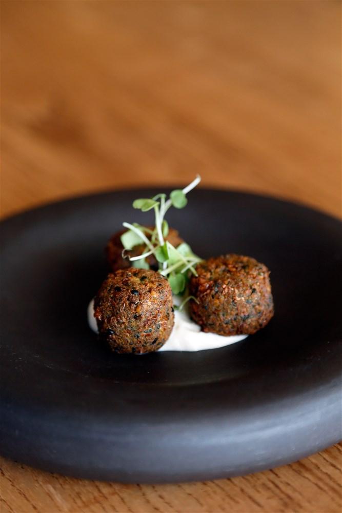 Social Kitchen Bar Falafel with tahini yoghurt 1 - Social Kitchen & Bar: New Mediterranean Sharing Menu