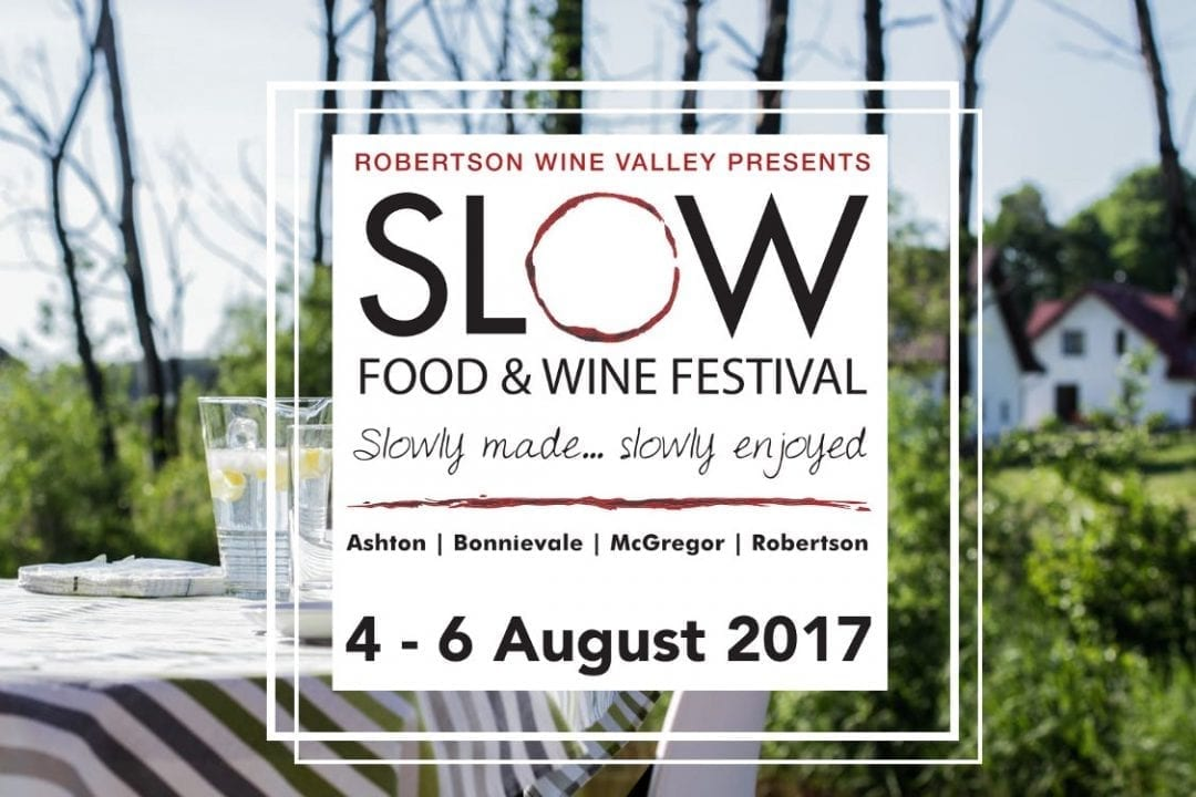 robertson slow festival Hospitalty hedonist 1080x720 - Robertson SLOW Food & Wine festival: 4-6 August 2017