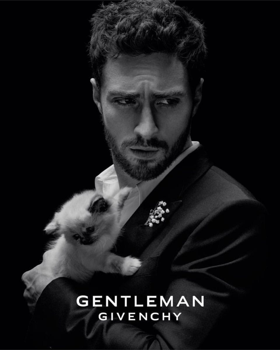 o.56923 960x1199 - Aaron Taylor-Johnson face of Givenchy fragrance   Gentleman