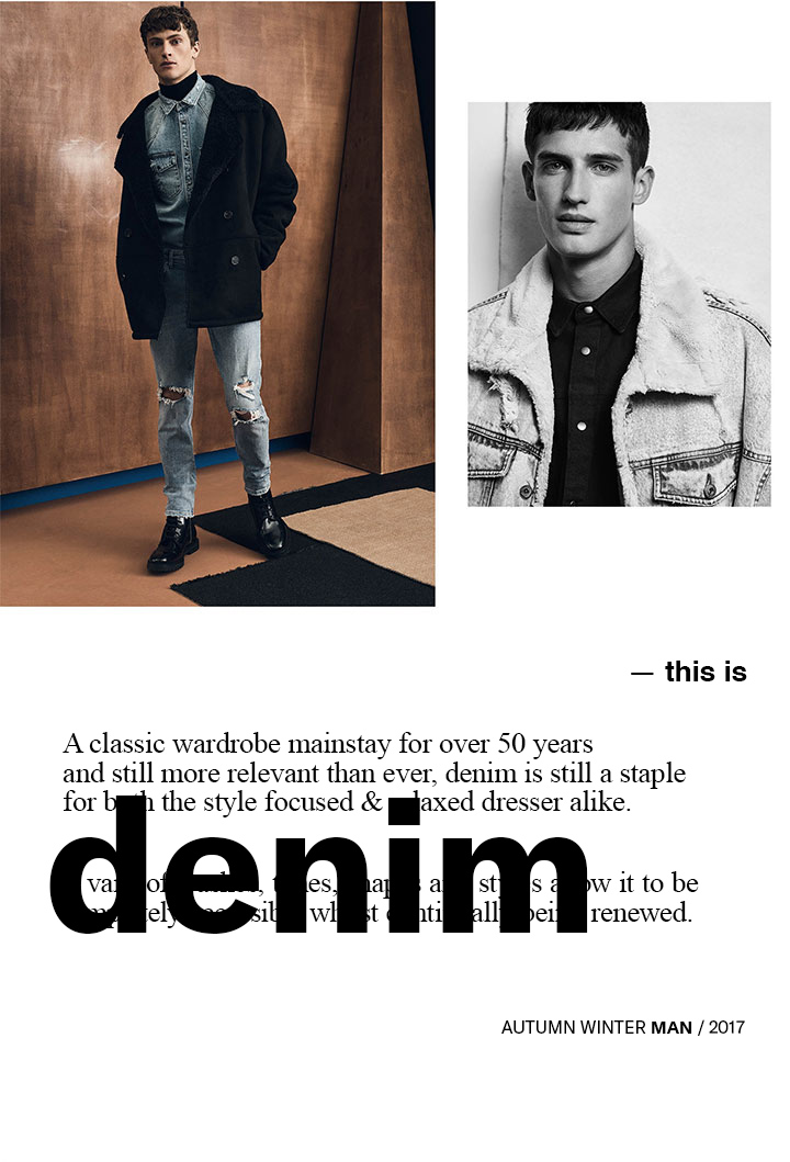 this is denim aw17 man newsletter 22 - This Is Denim | Z A R A