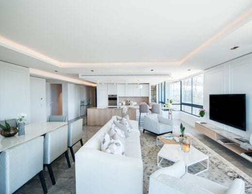 St Johns classic contemporary 7 520x400 - Look Inside: Seapoint's Bold Blanc De Noir Building